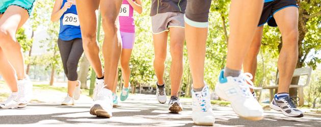 course à pied au parc