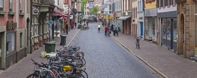 Quartier Freiburg im Breisgau Allemagne